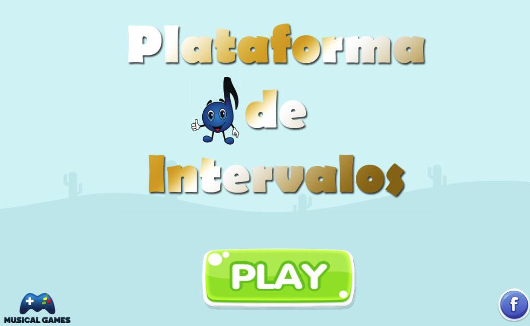 Jogos Musicais – Plataforma de Intervalos